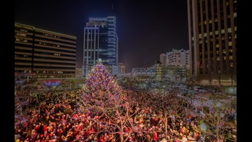 Experience Christmas in the City in Downtown Boise