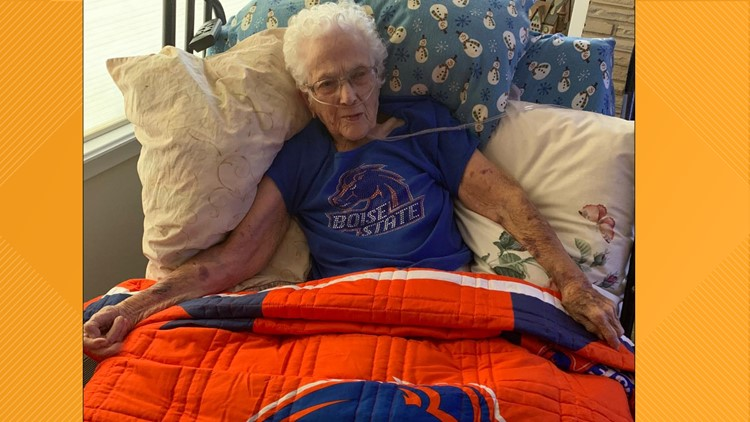 Boise State superfan Bernice Thomson dies on Game Day