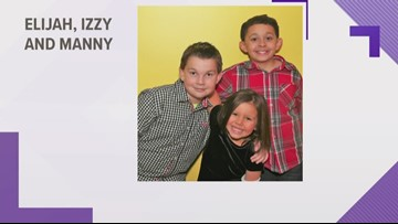 Wednesday's Child: Elijah, Manny and Izzy