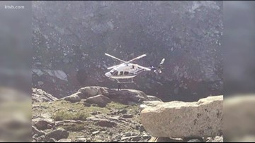 St. Luke's crew saves injured hiker from a remote mountainside in a daring rescue