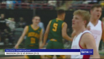 2019 3A boys state basketball championship: Sugar-Salem vs. Fruitland