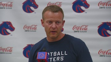 Boise State's Bryan Harsin explains the process that the team uses to improve & David Moa's impact