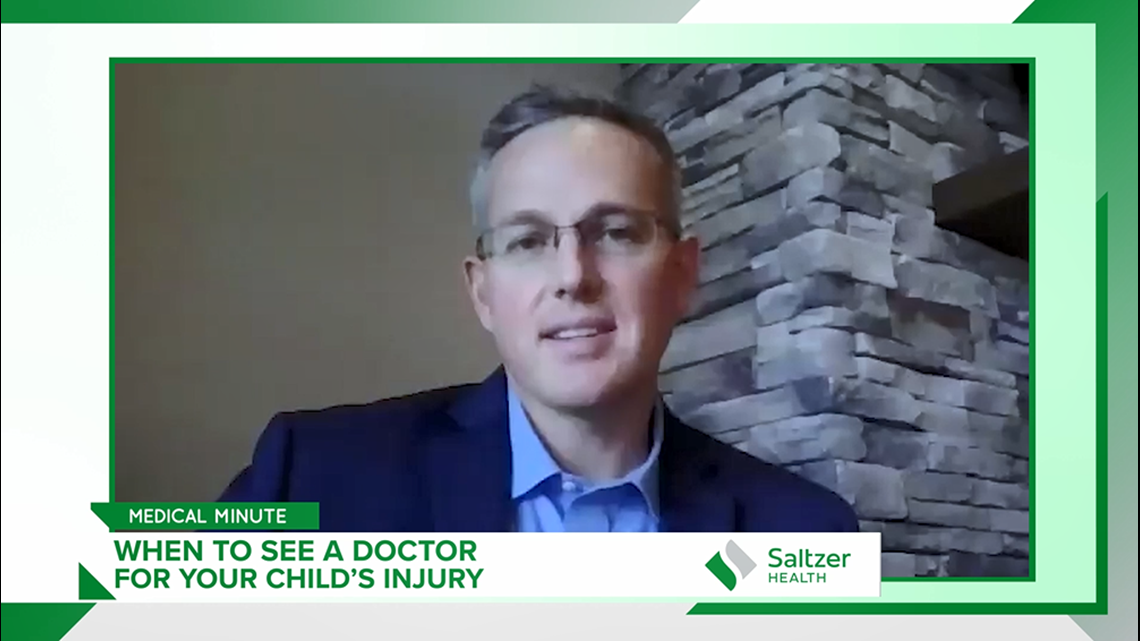 Medical Minute: When to see a doctor for your child's injury