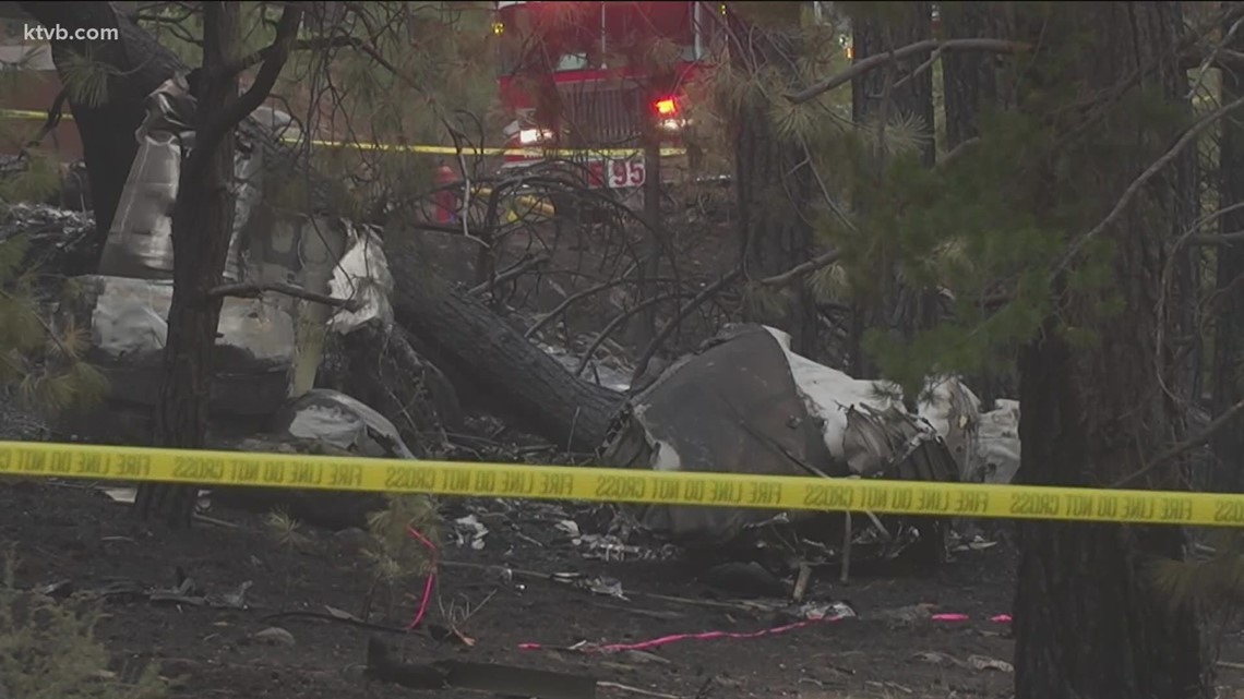 Plane that crashed near Lake Tahoe was coming from N. Idaho