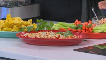 KTVB Kitchen: Buffalo Chicken Hummus Dip