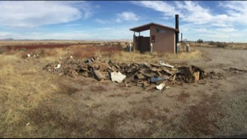 Idaho Fish and Game sees uptick in illegal dumping at hunting access sites
