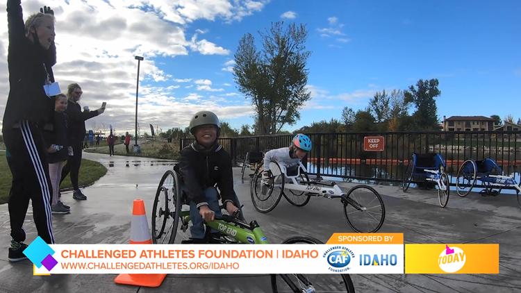 Idaho Today: Challenged Athletes Foundation Supports Individual Athletes Through Grants