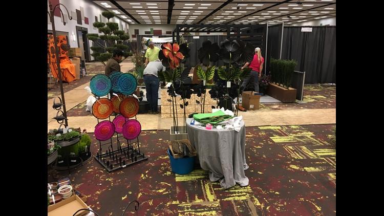 Where's Larry? Boise Centre, Boise Flower and Garden Show