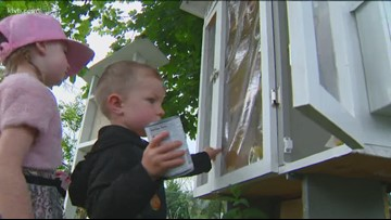 7's Hero: Boise family builds  a neighborhood food pantry for those in need