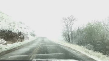 WATCH: Time lapse video of the snowy conditions of Race to Robie course today