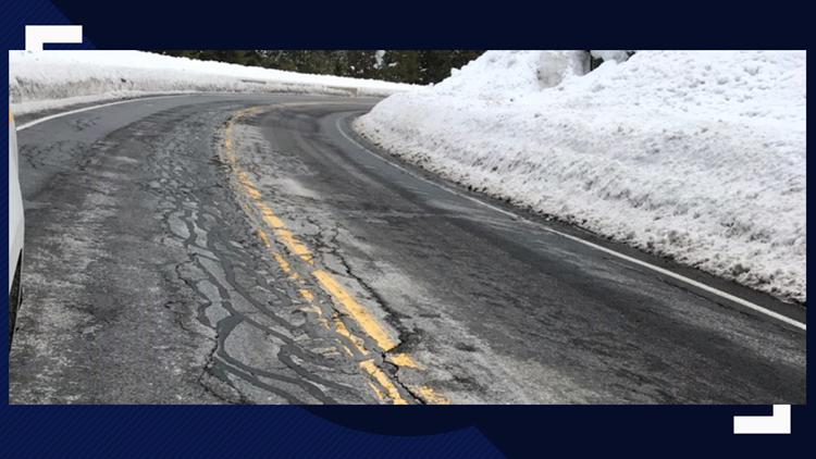 Motorists warned to avoid Idaho 55 because of destructive potholes