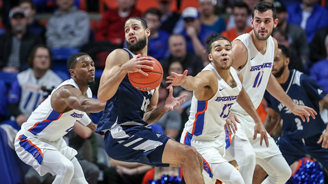 Martin brothers lead No. 8 Nevada over Boise State 93-73 | ktvb.com