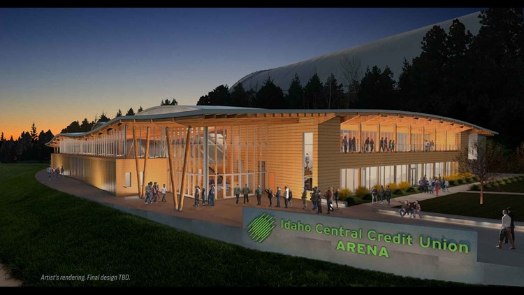 Officials say Idaho Central Credit Union contributed $10 million toward the $45 million project.