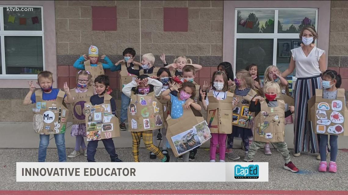 Innovative Educator: Boise kindergarten teacher makes the alphabet a game of dress-up