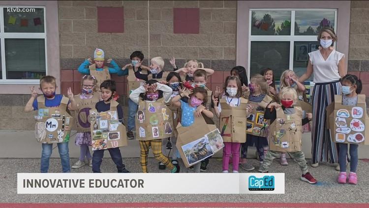 Innovative Educator: Boise teacher makes learning the alphabet 'fashionable'