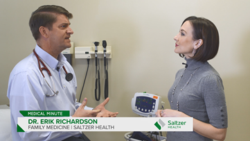Medical Minute: Dr. Erik Richardson of Saltzer Health gives advice on how to control your weight.