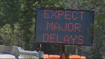 Section of Highway 55 to be reduced to one lane for construction, causing delays