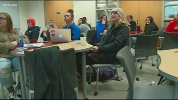 Life in Balance: Boise State students learn about happiness in sought-after class