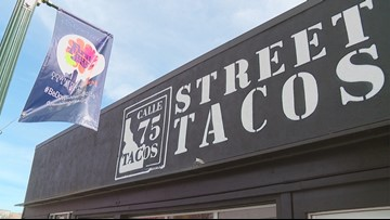 Keepin' It Local: Calle 75 Street Tacos