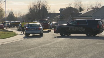 Woman dead, suspect killed by police after violent, chaotic