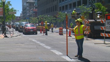 Dozens of road projects cause headaches for commuters in downtown Boise
