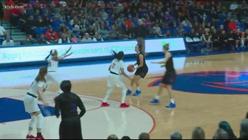 Boise State women fall to Louisville 74-55