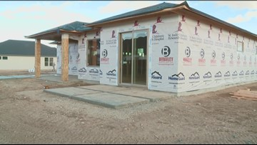 Crews frame St. Jude Dream Home in south Meridian