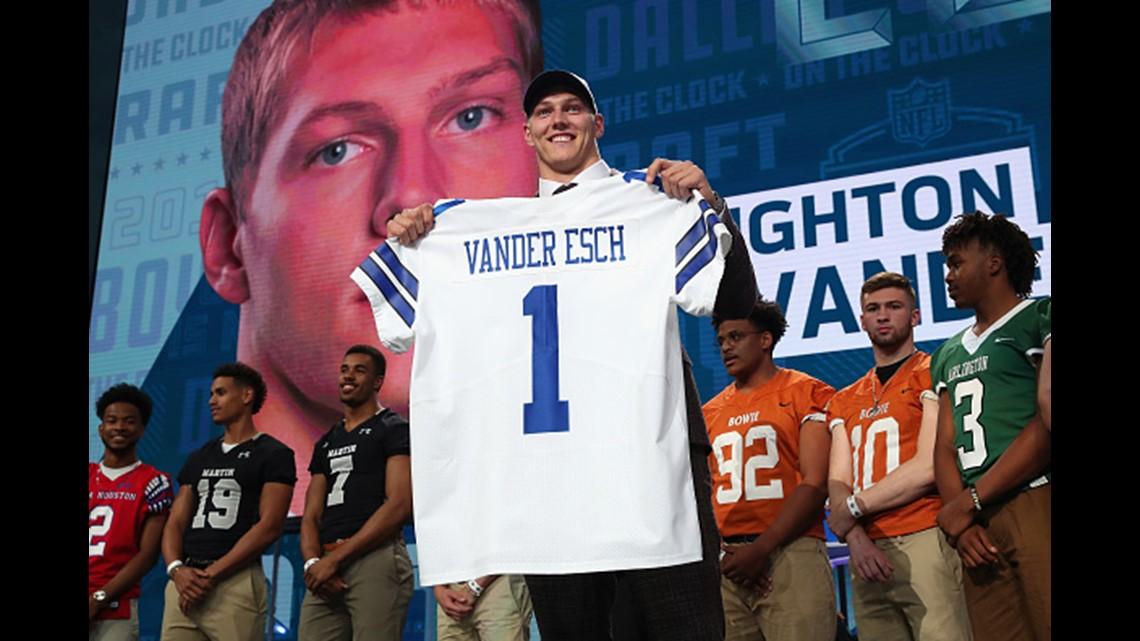 Leighton Vander Esch drafted by Dallas Cowboys  36ce6b5538d2