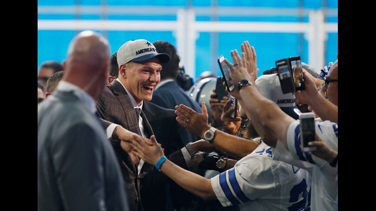 Leighton Vander Esch picked 19th to the Cowboys