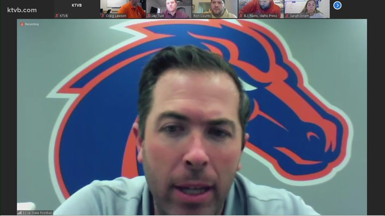 Boise State OC Tim Plough on how the offense's consistency and execution can improve
