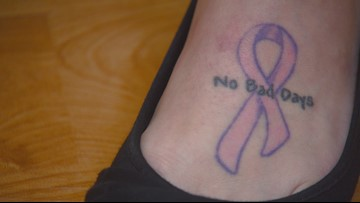 'No Bad Days' | Survivor helps others fighting breast cancer