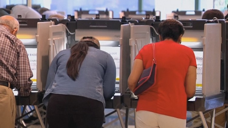 Poll workers in Ada County were printing more Democratic ballots due to higher than expected turnout.