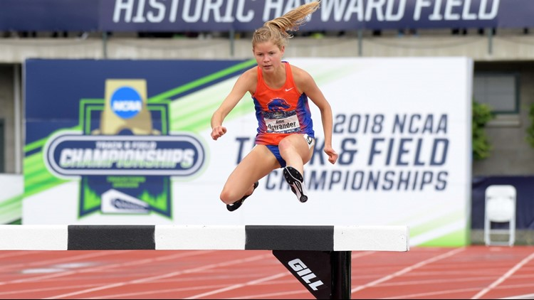 The Bronco redshirt sophomore is the second back-to-back national champ in the history of Boise State's track program.