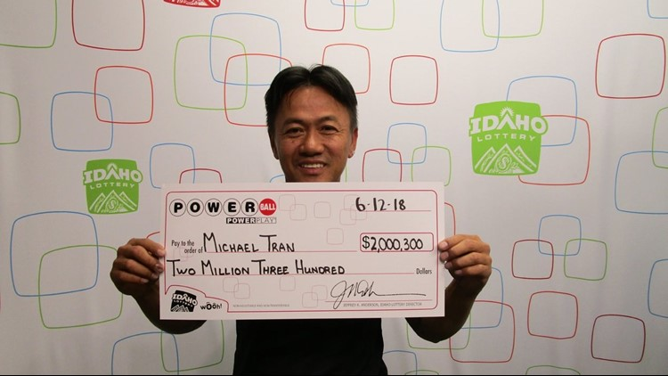 Idaho Lottery officials say Michael Tran played the same numbers for 18 years.