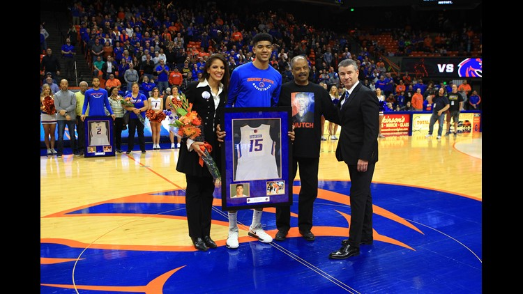 ESPN is on board with the consensus out there—Boise State's Chandler Hutchison will be selected by the Chicago Bulls with the No. 22 overall pick next week.
