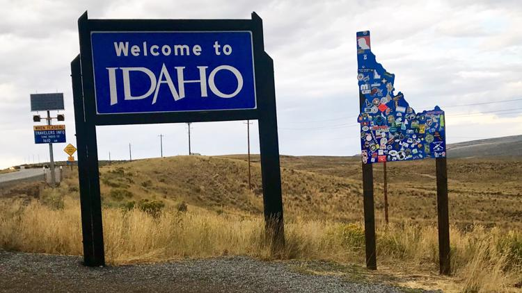 Idaho continues to attract out-of-staters, mainly from California