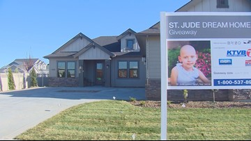 Caldwell man wins St. Jude Dream Home the day after signing a new apartment lease
