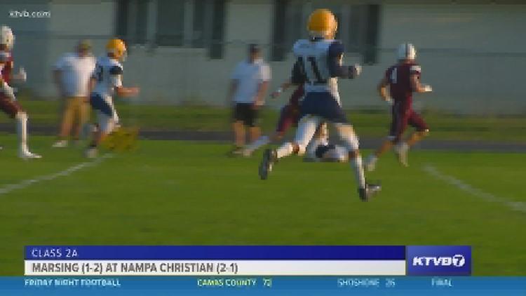 Friday Night Football: Nampa Christian host the Marsing Huskies