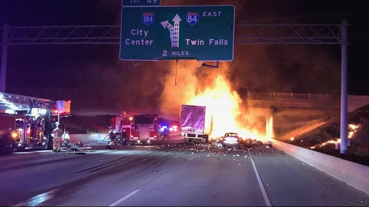 Final victim in fiery I-84 wreck identified | ktvb com