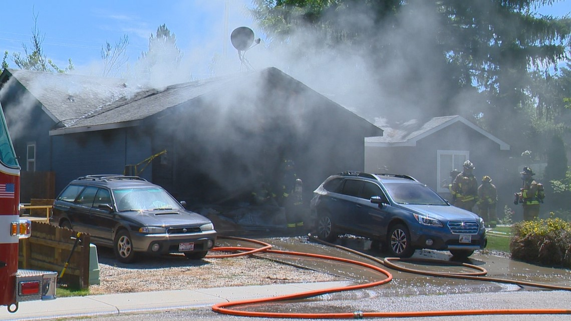 Crews extinguish garage fire near centennial high - Nearest garage to my current location ...