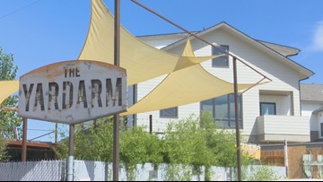 Garden City bar owner says new development crossed onto their property