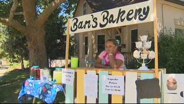 Idaho Life: Boise girl sets up summer cupcake stand to help the homeless
