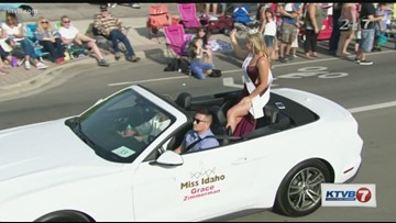 Nearly 100 floats celebrate 90 years of history at Meridian Dairy Days Parade