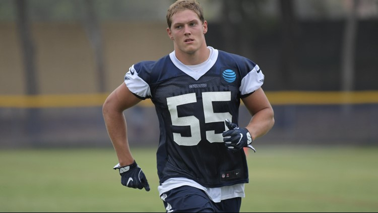 bac3a3b7d Boise State in the NFL: Leighton ready in his linebacker's number ...