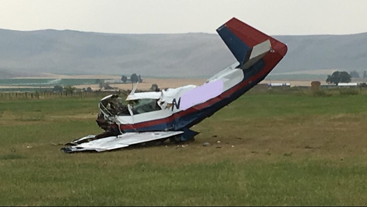 The plane had taken off from Caldwell, Idaho, and was believed to be en route to Baker City, Oregon.