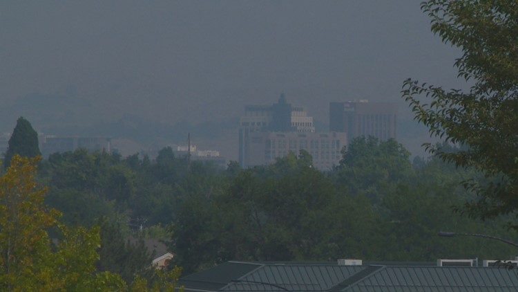 Smoke from wildfires has reached the Treasure Valley; here's what you need to know about air quality in Idaho