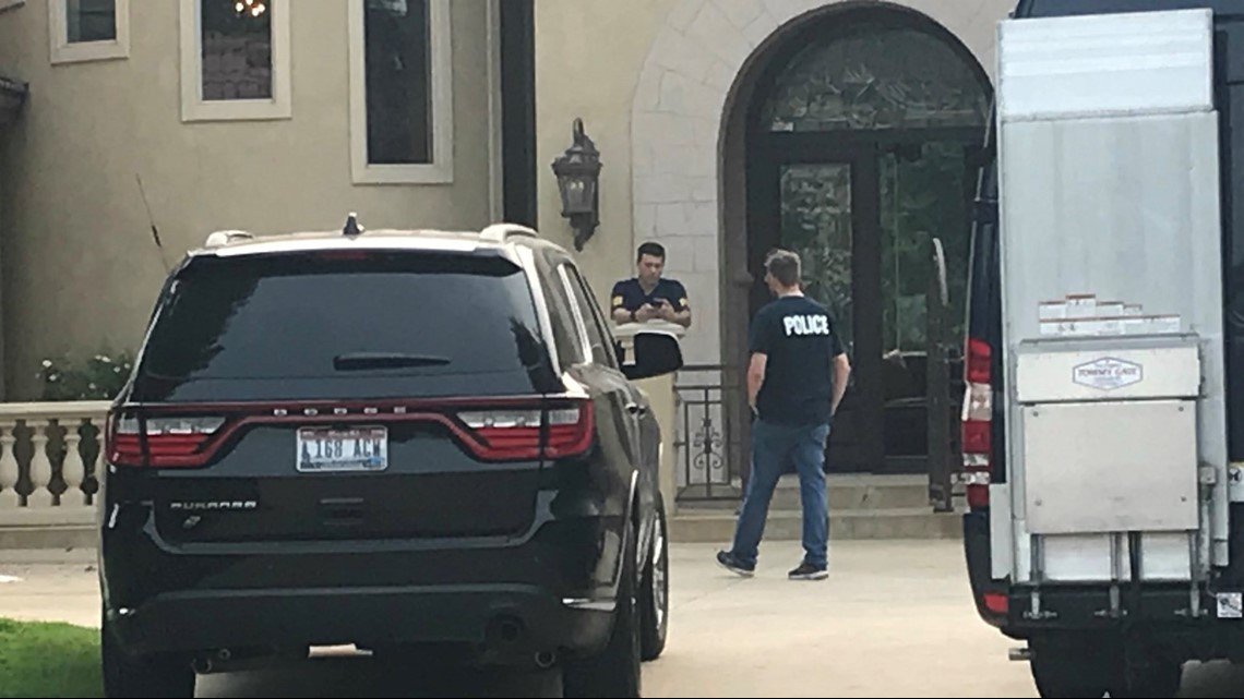 Officials with the FBI, Homeland Security and U.S. Postal Inspectors have been going through homes and businesses across Ada County during a FBI operation ...