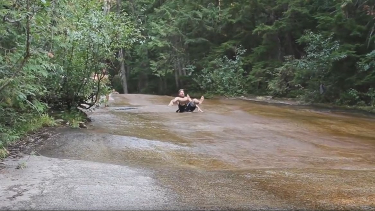 Last month, the Idaho Department of Lands said they received reports of people visiting a natural water slide near Priest Lake and were being asked to pay a fee.