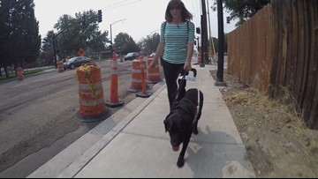 Where the Sidewalk Ends | Boise construction zone tricky for people with disabilities