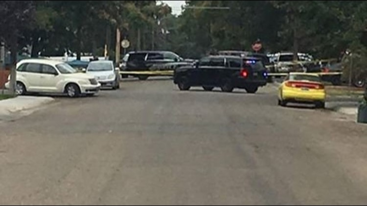 Officers are investigating at a home on South Fairview Street near Lone Star Road.